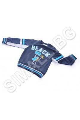 Спортна блуза за момчета от 1 до 5 години