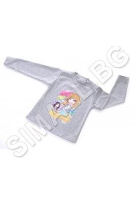 Детска блуза за момиче от 1г. до 5г.