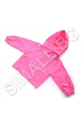 Детско есенно непромокаемо яке за момичета от 1г. до 5г
