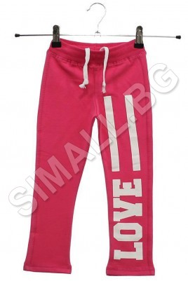 Kids trousers for girls from 2 to 9 years in 3 colors